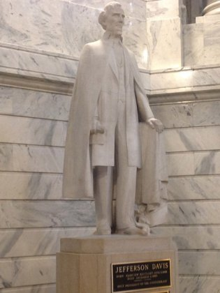 Jefferson Davis Statue Capitol Rotunda Frankfurt Kentucky