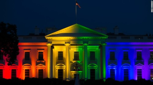 Rainbow White House