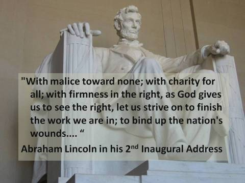Lincoln -- With Malice Toward None