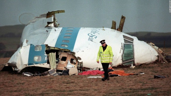Bombing of Pan Am Flight 103 Lockerbie Scottland 1988