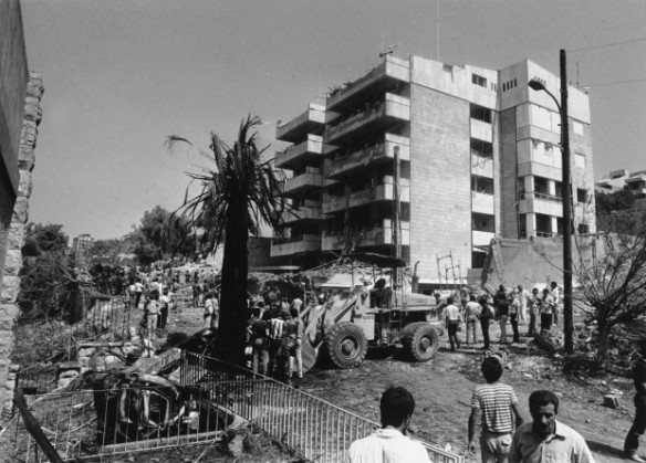 US Embassy Annex Aukar Lebanon 1984 Bombing
