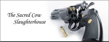 The Sacred Cow Slaughterhouse header